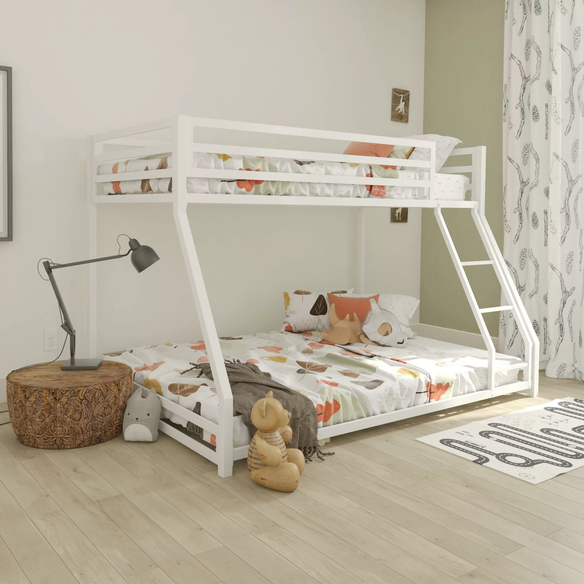 Harriet Bee Simoneau Twin Over Full Bunk Bed Reviews