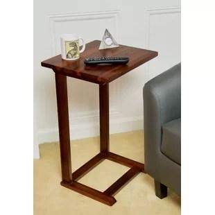 kabamba solid wood c end table