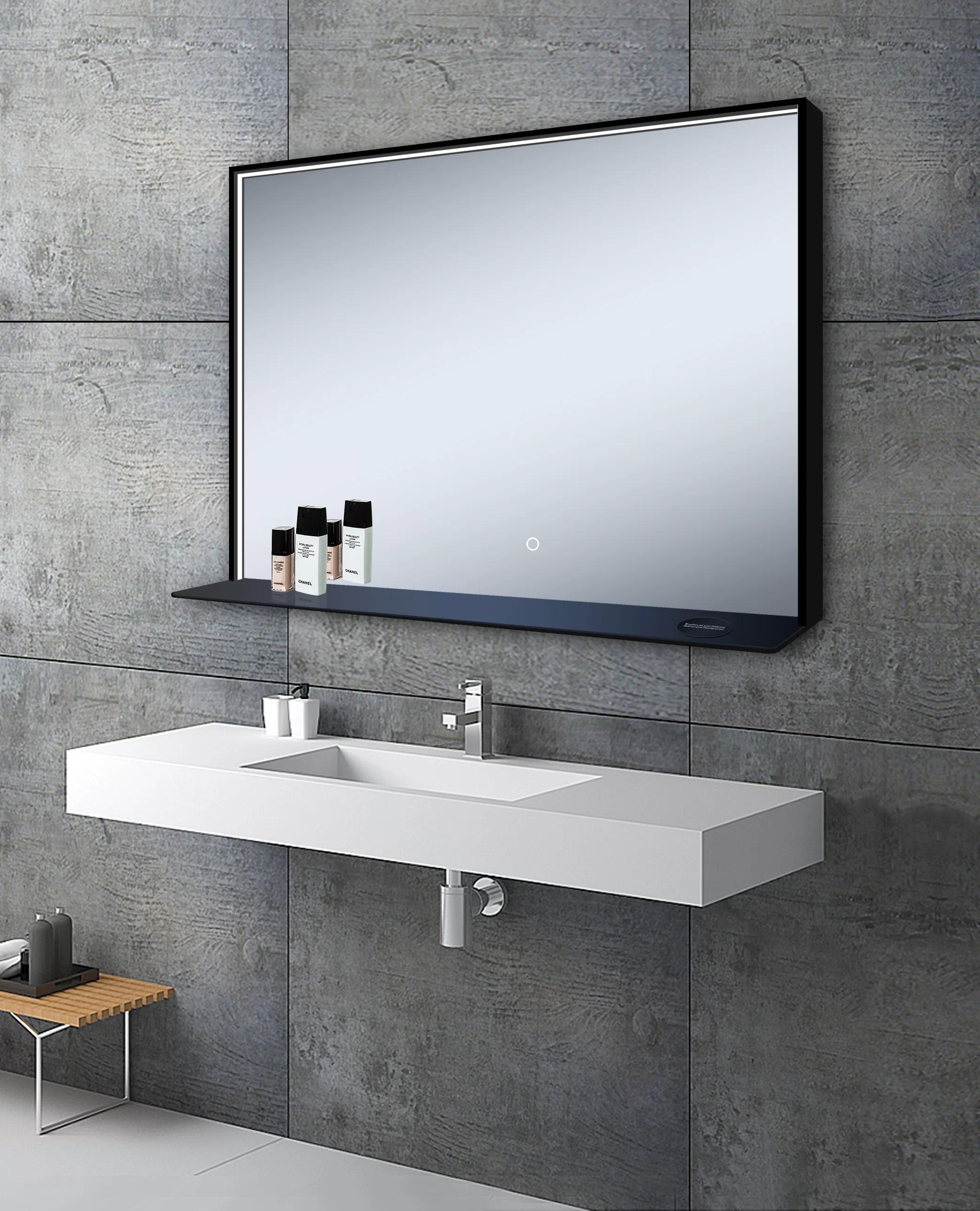 Martino Modern Contemporary Bathroom Vanity Mirror