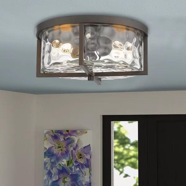 flush mount farmhouse lighting