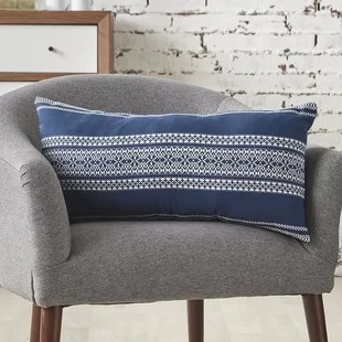 avani rectangular cotton pillow cover and insert