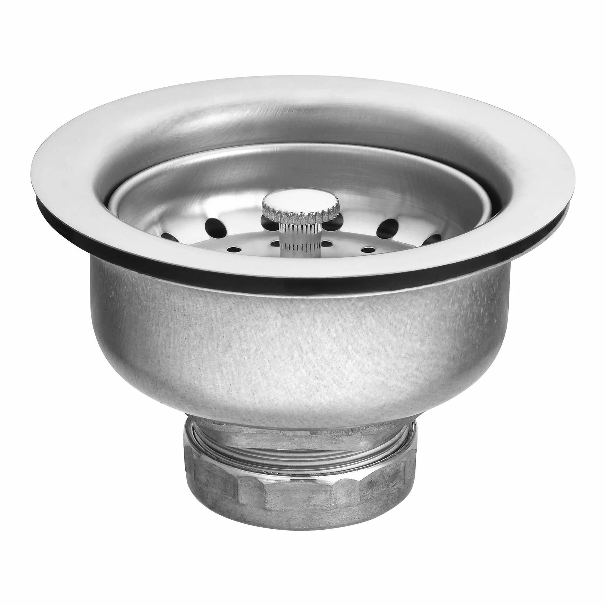 moen basket strainer kitchen sink drain