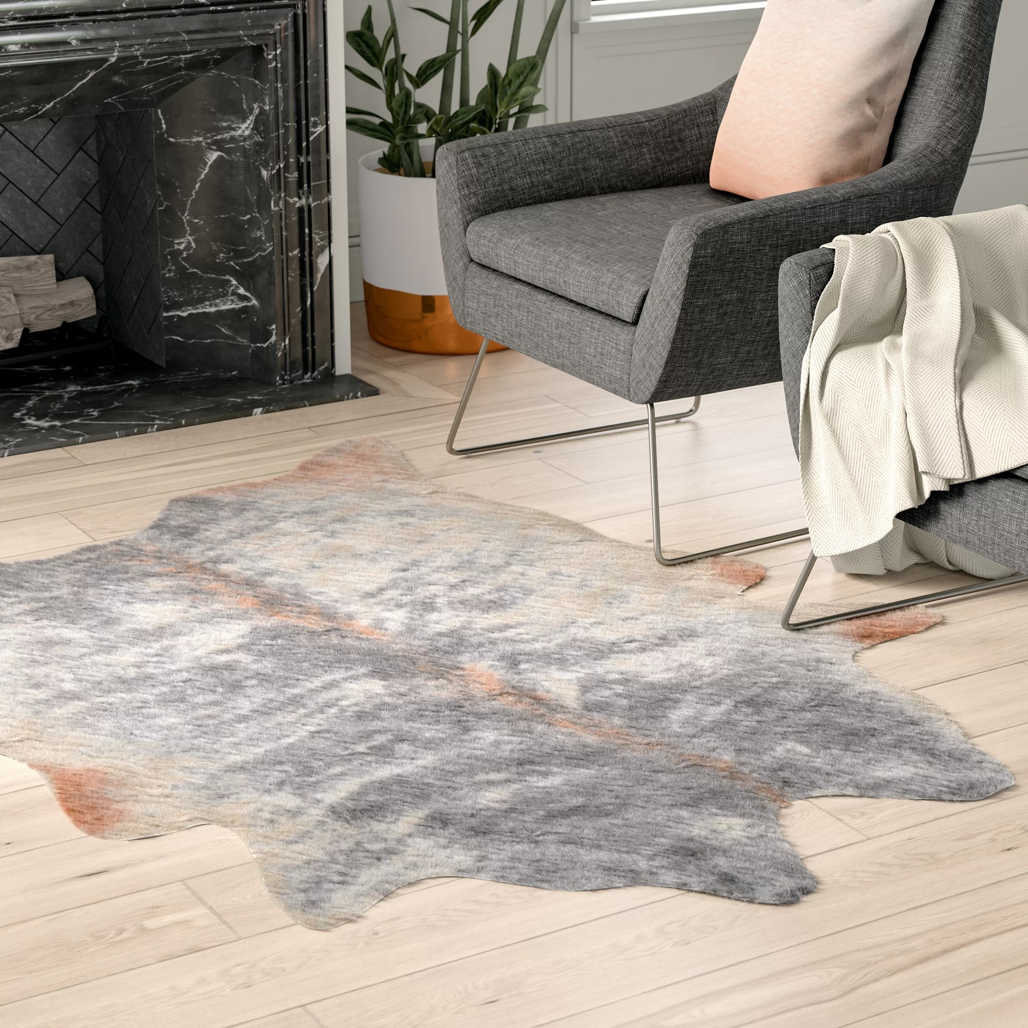 The Ultimate Natural Rug The Humble Cowhide Home 2 Dor