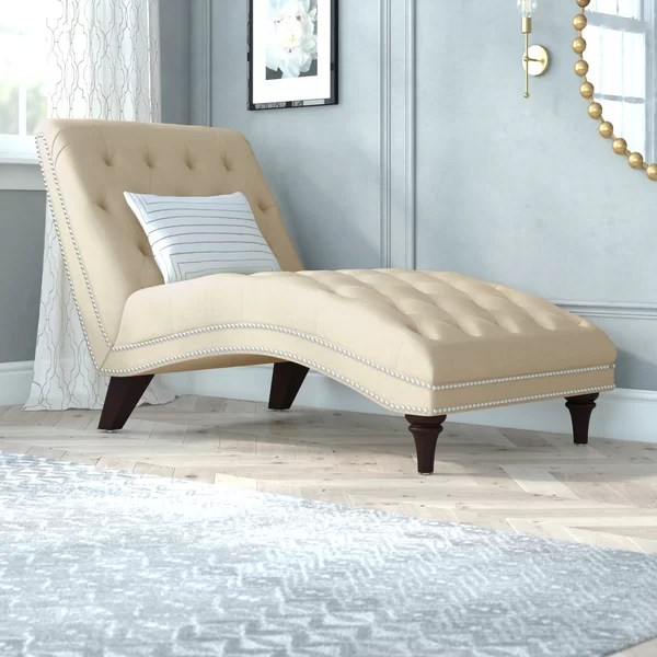 navy blue chaise lounge