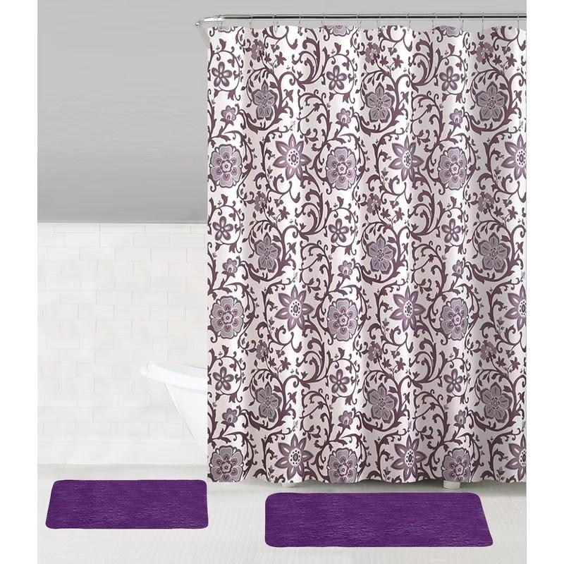 zelda 15 piece shower curtain set hooks