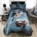 Franco Manufacturing Batman Guardian Speed Reversible Comforter Set Reviews Wayfair