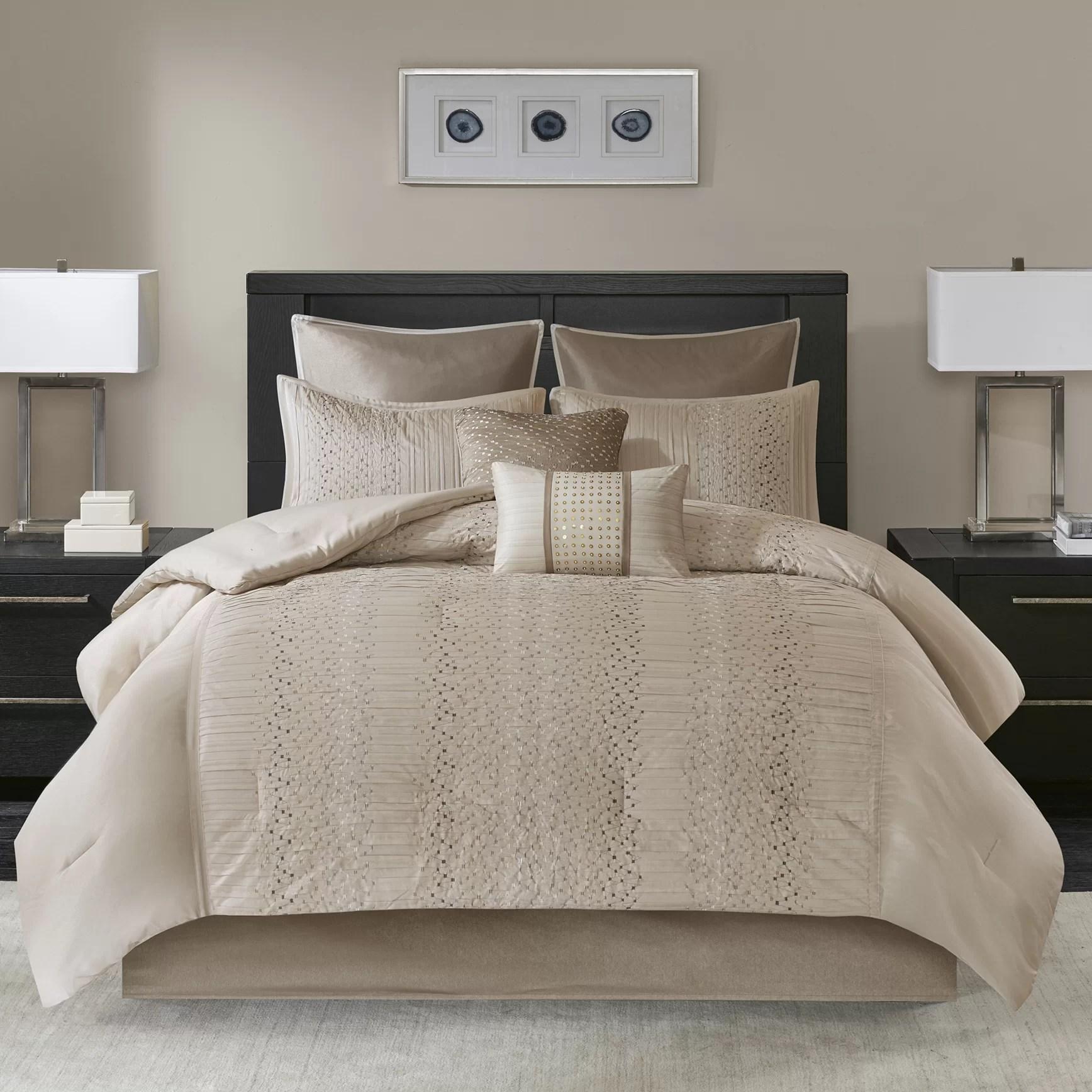 nilsen 8 piece comforter set