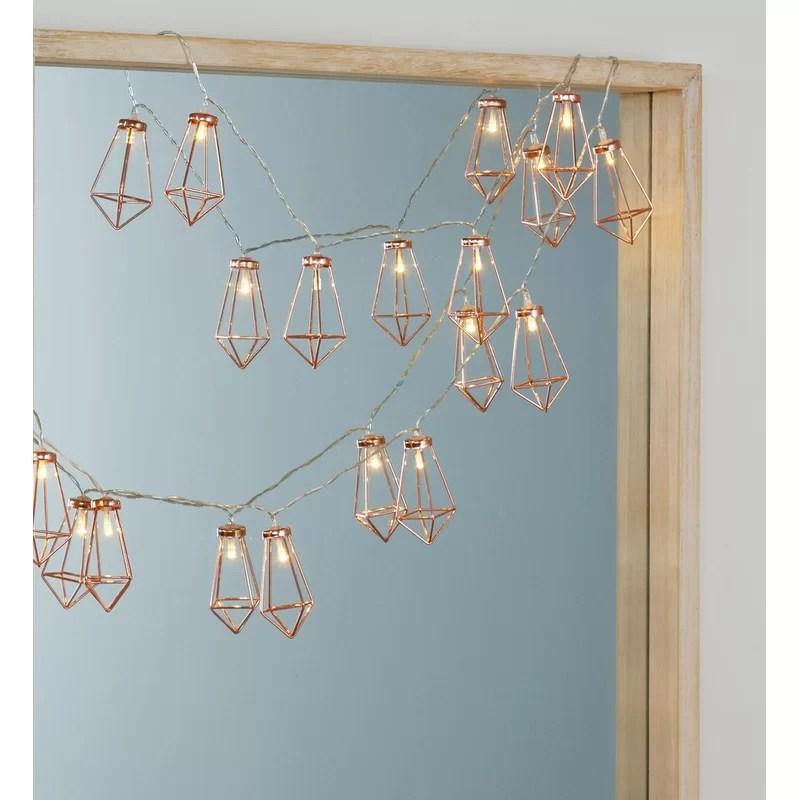 richelle diamond led novelty string lights