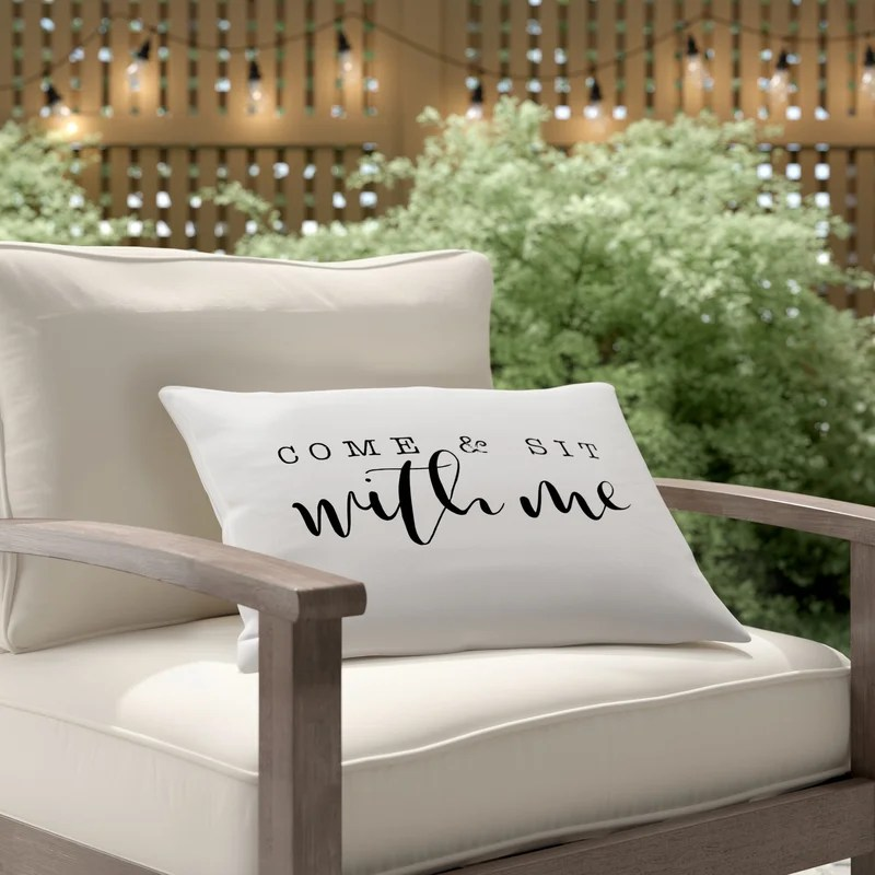 luedtke come and sit with me bold indoor outdoor lumbar pillow