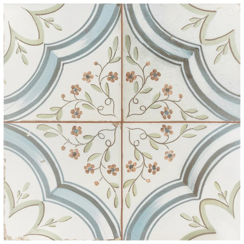 alcaza 18 x 18 ceramic wall floor tile