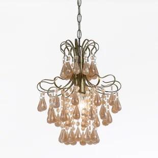 Tiffany 1 Light Crystal Pendant By Af Lighting