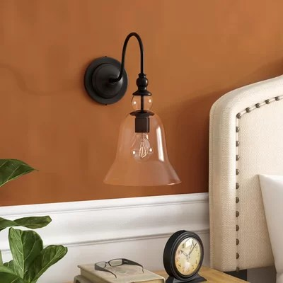 Non Hard Wired Wall Sconce | Wayfair on Non Wired Wall Sconces id=77301