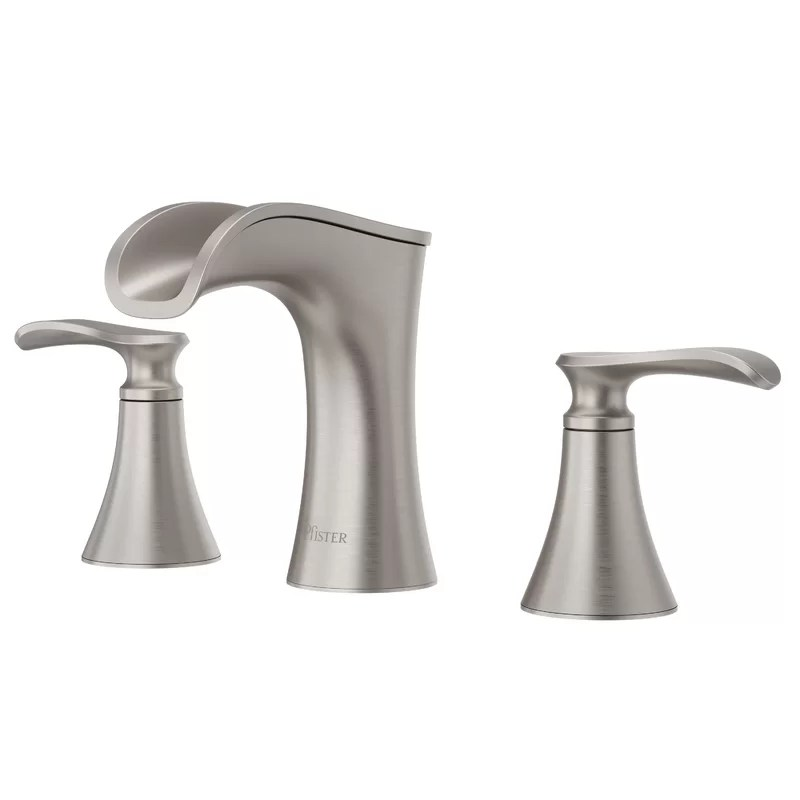 jaida widespread bathroom faucet with drain assembly