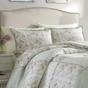 harper bright green comforter set