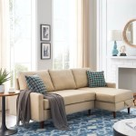 Corrigan Studio 84 Pull Out Sleeper Sectional Sofa Corner Sofa Bed With Storage