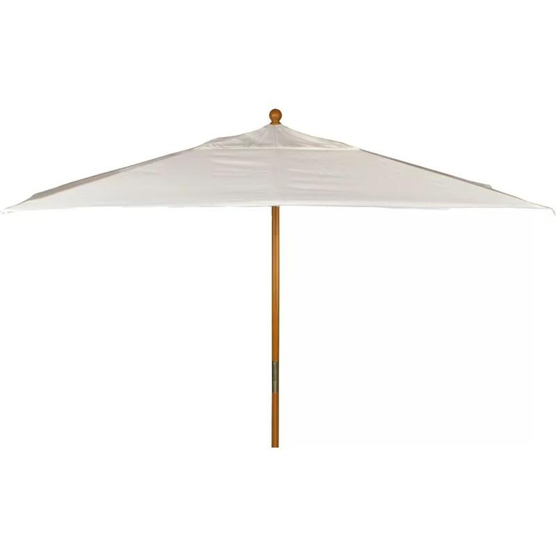 dalston 10 x 6 rectangular market sunbrella umbrella