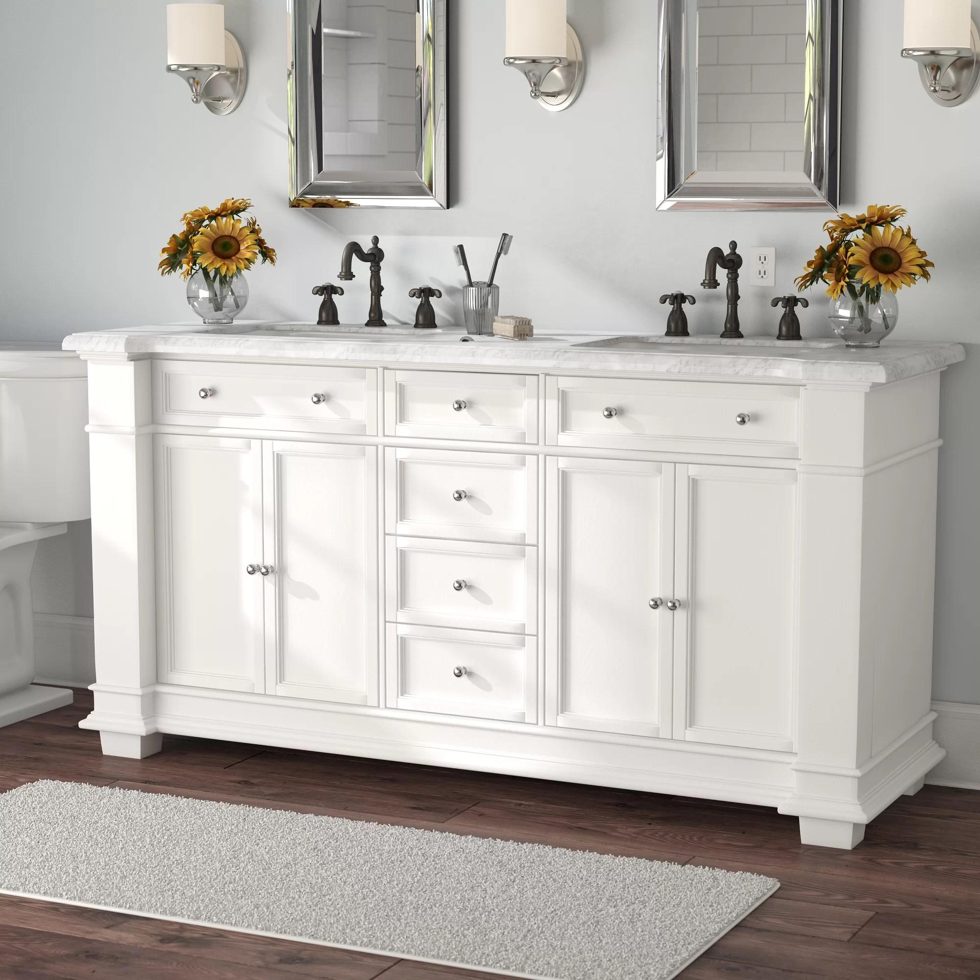 72 inch white bathroom vanities you ll