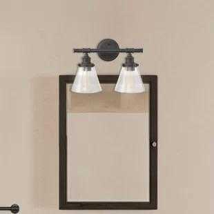 kendrick 2 light dimmable vanity light