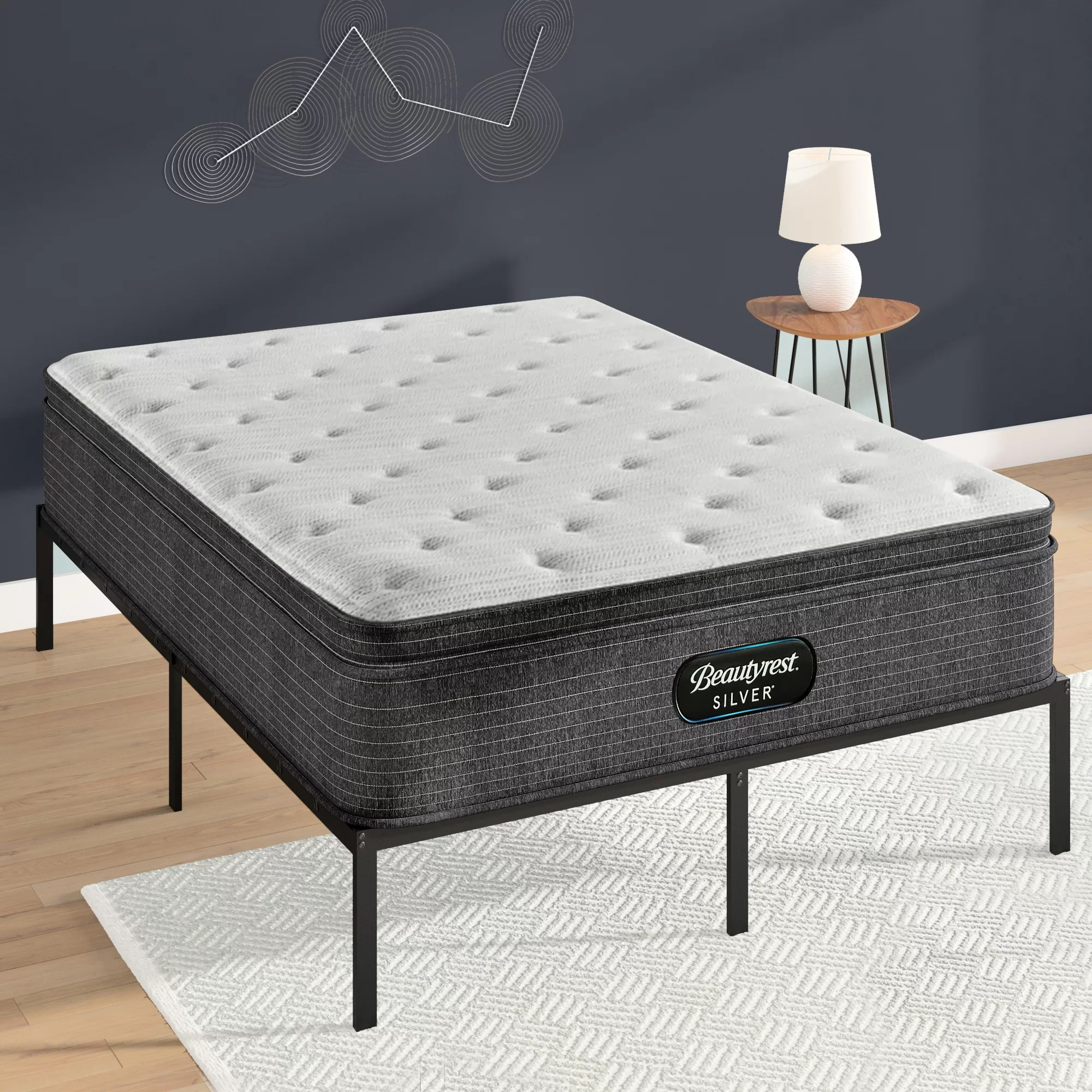 beautyrest silver 15 medium pillow top mattress