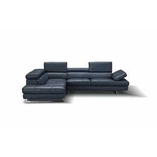 ciara leather sectional
