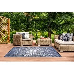 avellino power loom blue indoor outdoor use rug