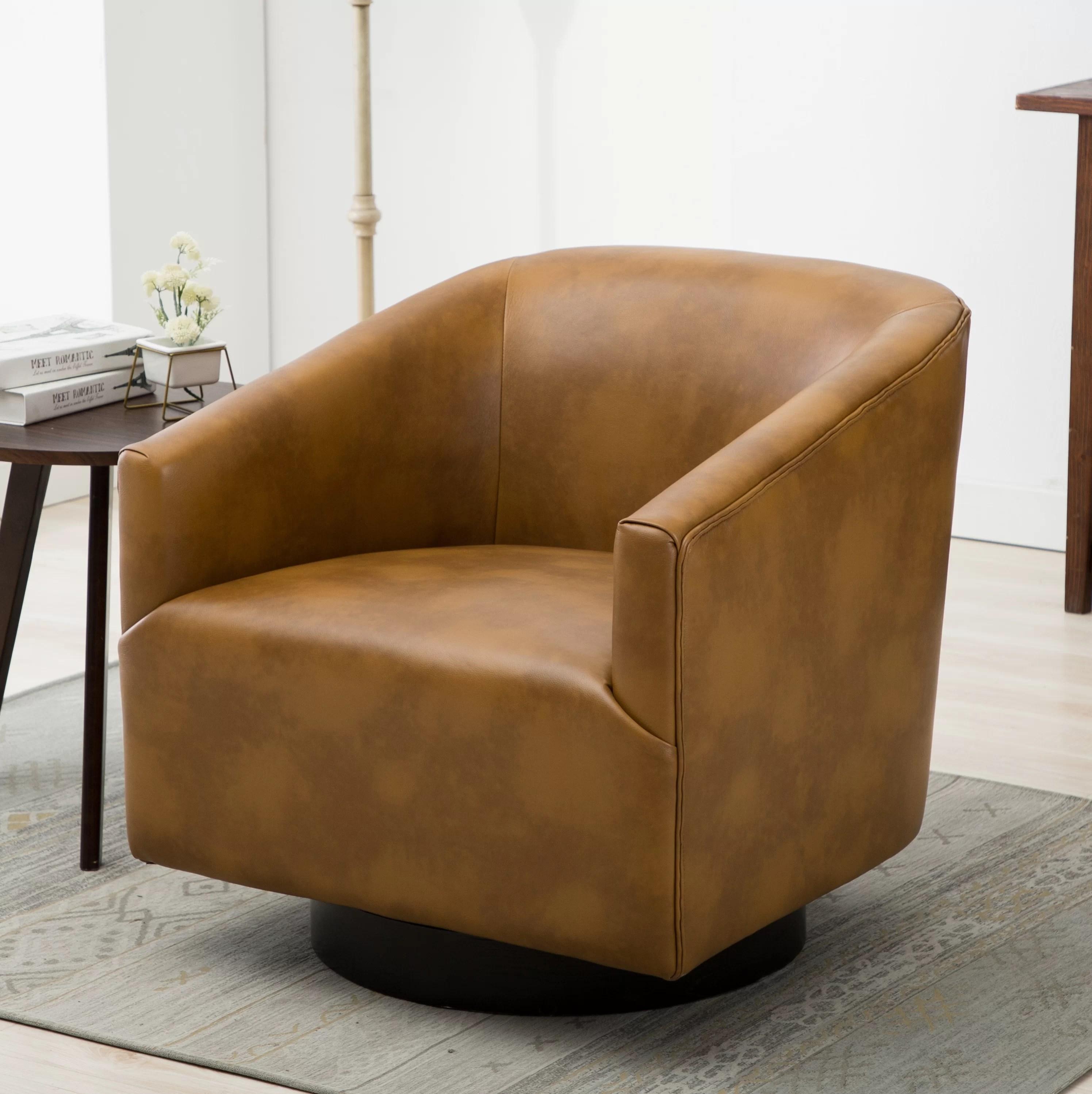 Mcintyre Swivel Barrel Chair