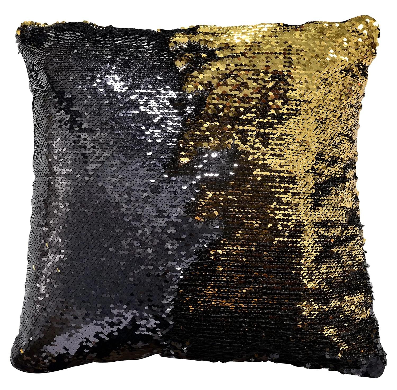 eliana sequin pillow cover