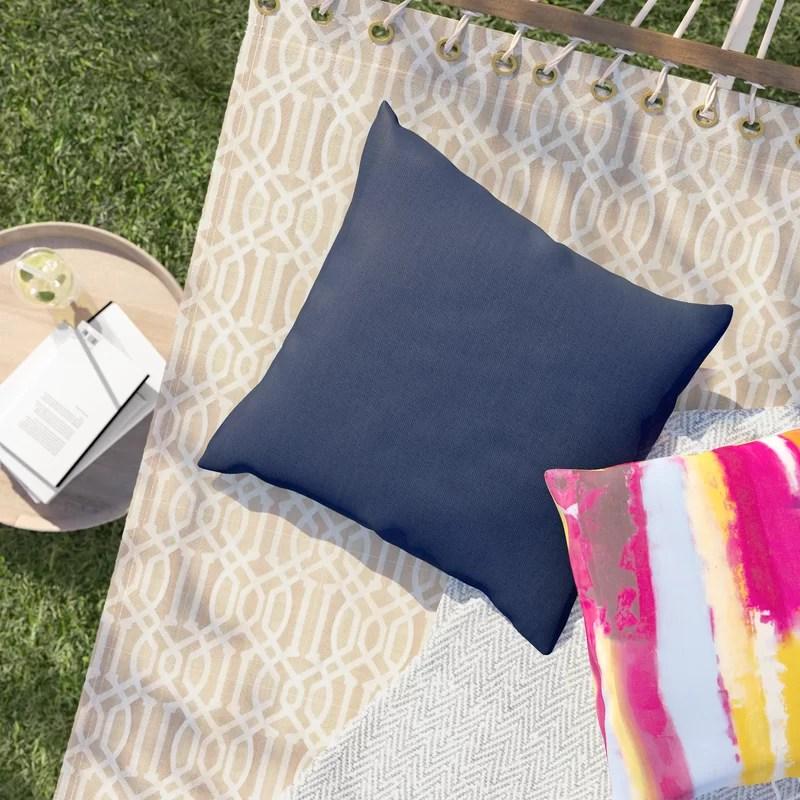 Crispin Sunbrella Indoor/Outdoor Throw Pillow
