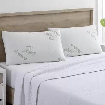clara clark memory foam pillow