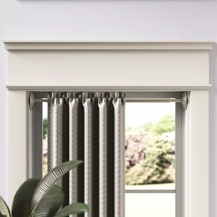 chalkhill decorative spring curtain tension rod