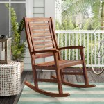 Beachcrest Home Rothstein Outdoor Rocking Chair Reviews Wayfair