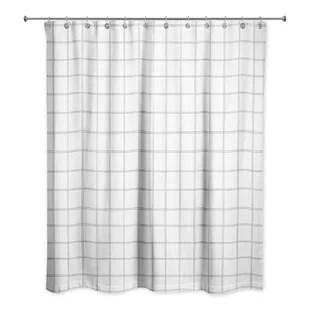 plaid shower curtains shower liners