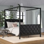 Canopy Upholstered Beds You Ll Love In 2020 Wayfair