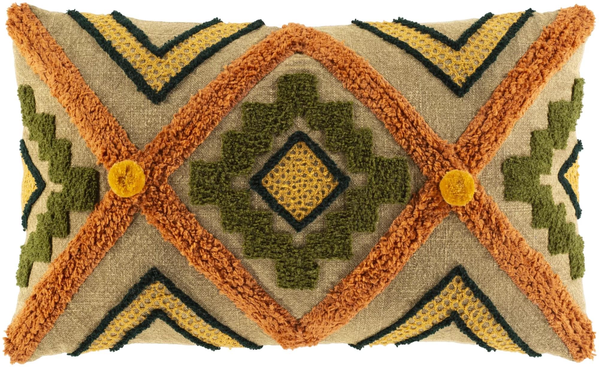 foundry select haney cotton geometric lumbar pillow reviews wayfair