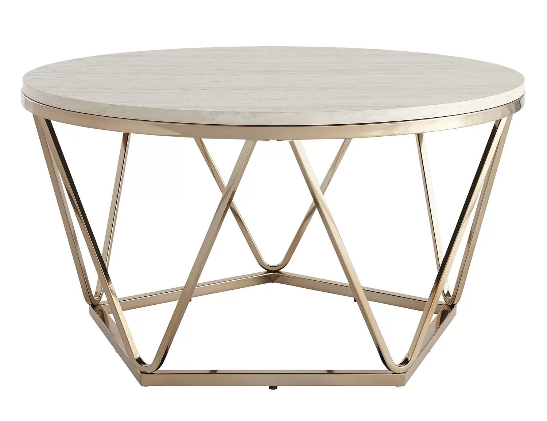Brayden Studio Quartz Coffee Table Reviews Wayfair Co Uk
