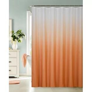Orange Shower Curtains Youll Love Wayfairca