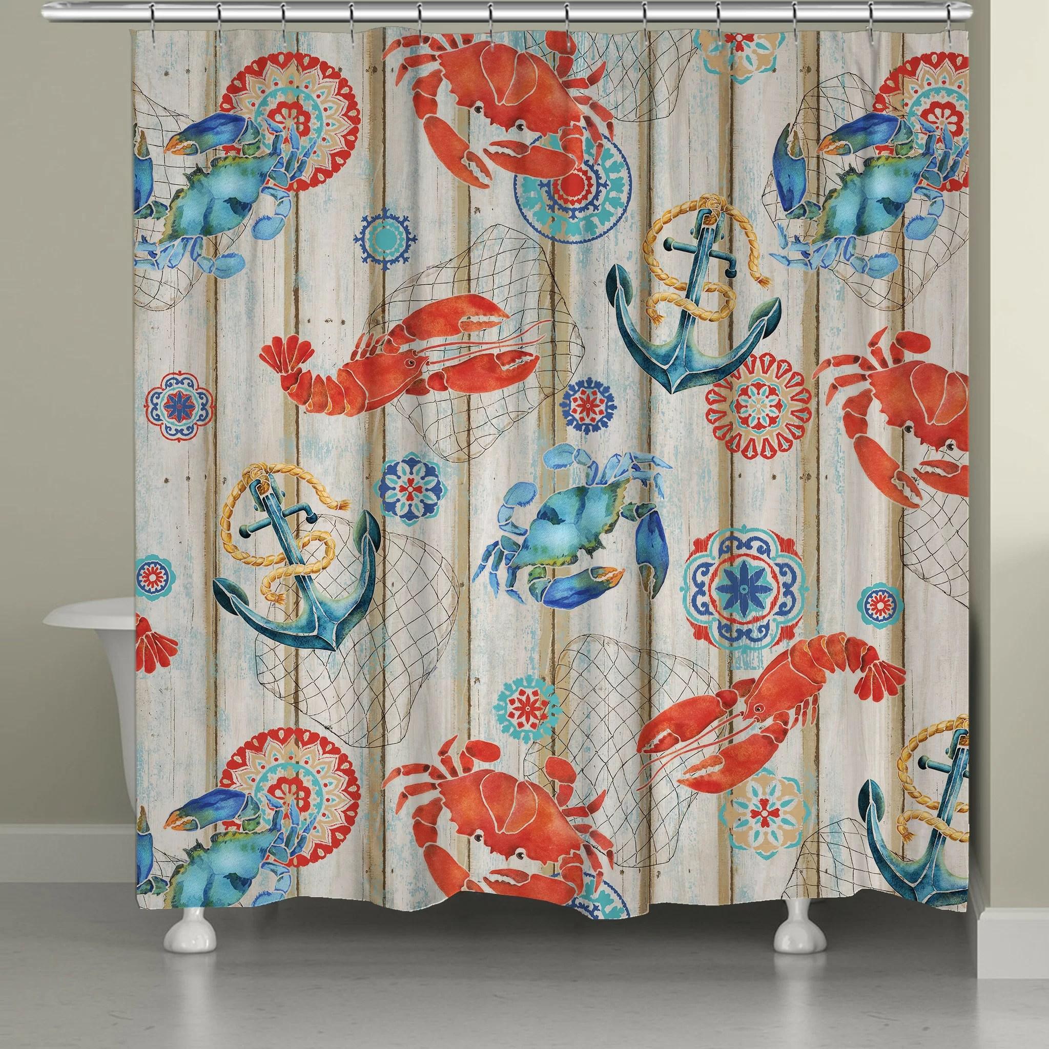 asher single shower curtain