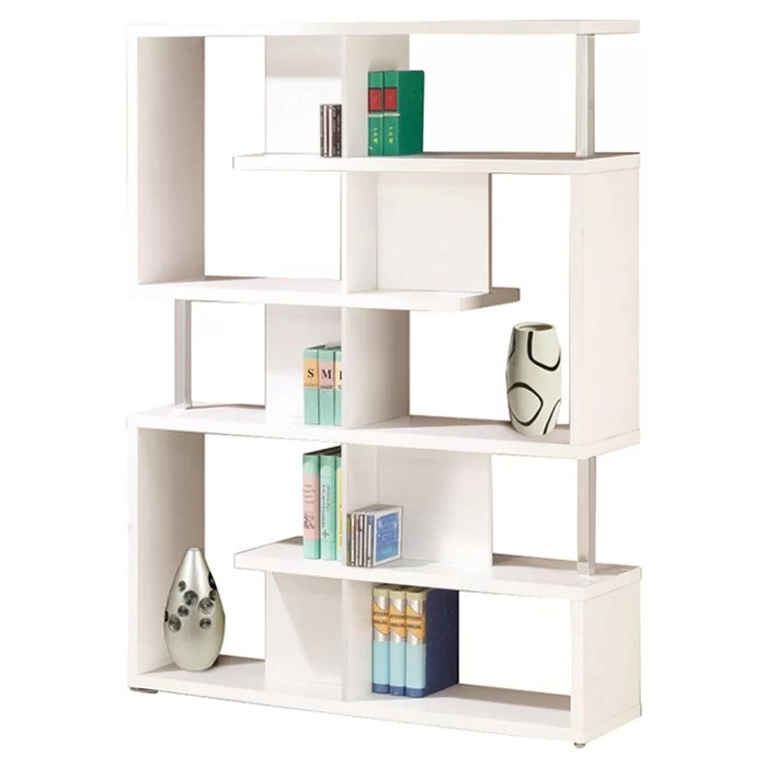 Chantilly Geometric Bookcase