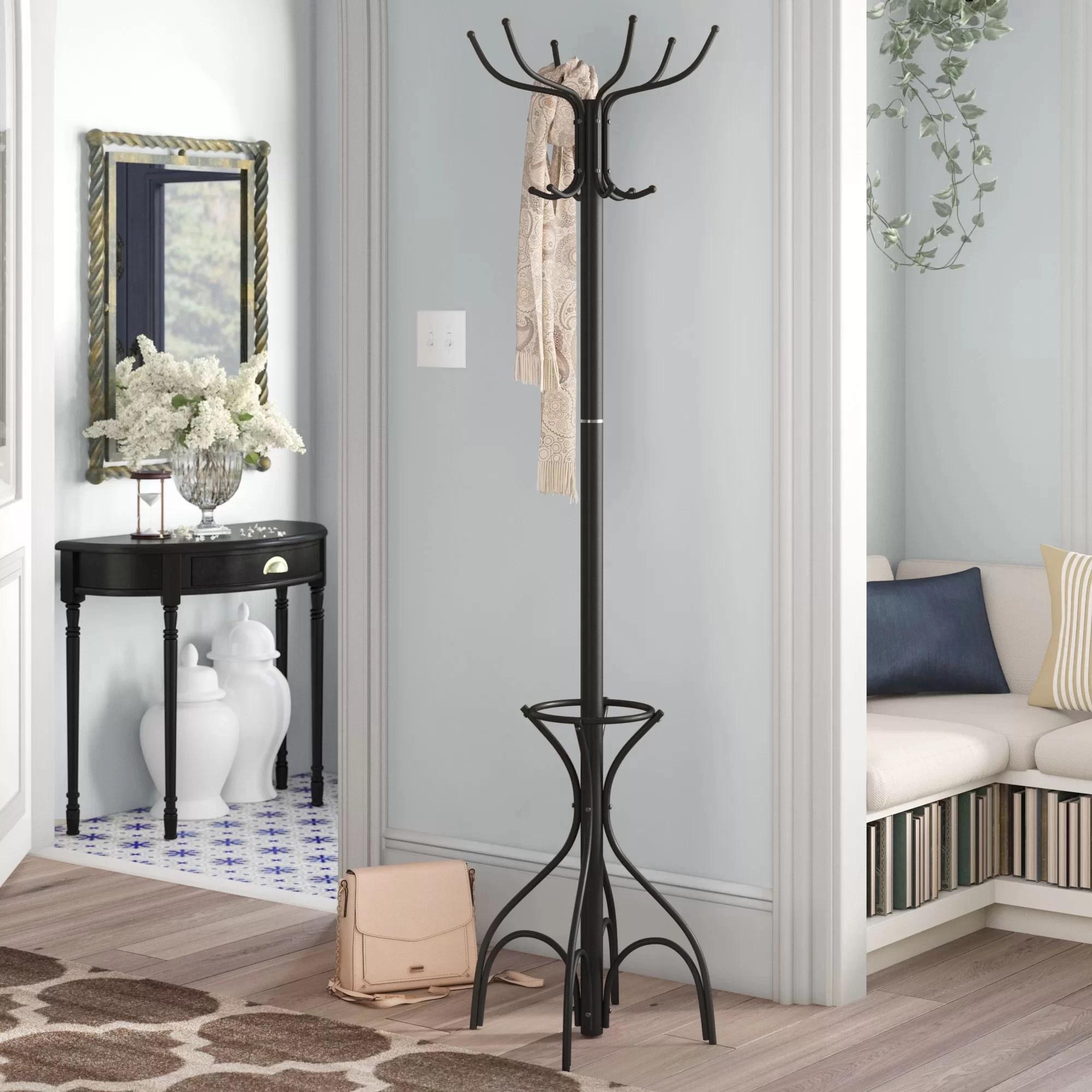 foyer hoobro coat rack stand hall tree