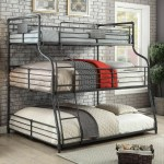 Isabelle Max Kirkland Levan Decker Twin Over Full Over Queen Bunk Bed