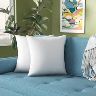 roisin square pillow insert set of 2