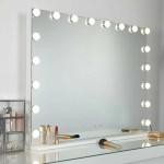 Rosdorf Park Nicholle Modern Contemporary Frameless Lighted Wall Mounted Mirror Reviews Wayfair