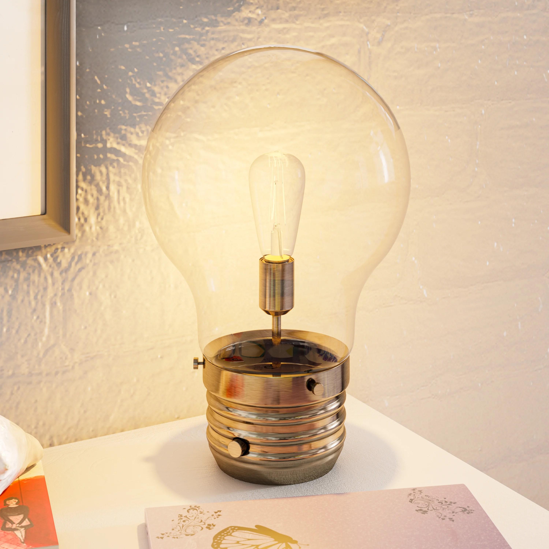 battey novelty table lamp