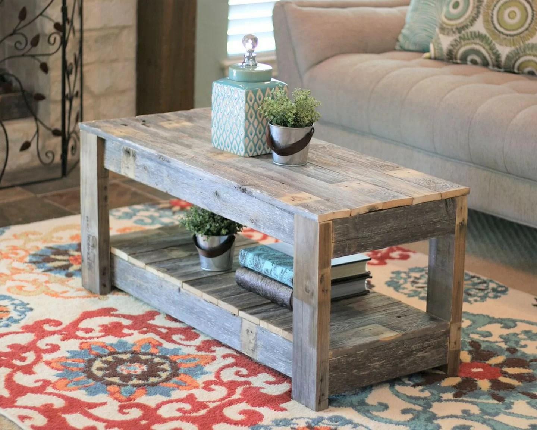 reclaimed wood coffee tables wayfair