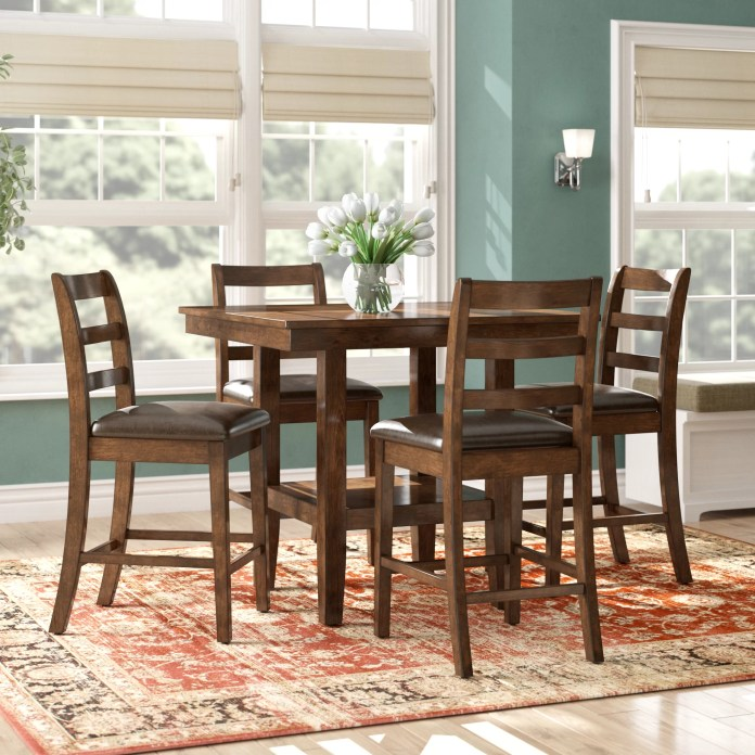 5 Piece Counter Height Kitchen Dining Room Sets You Ll Love In 2021 Wayfair