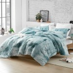 Wrought Studio Luna Designer Supersoft Oversized Comforter Moonrise Blue Grey Reviews Wayfair Ca