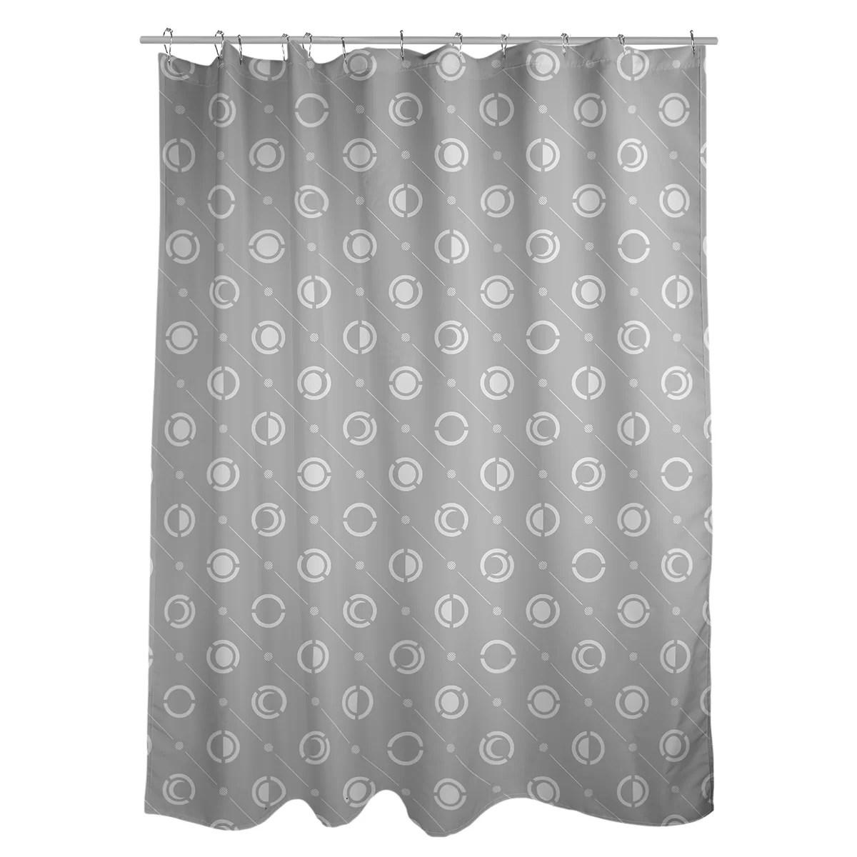 noira gothard classic moon phases single shower curtain