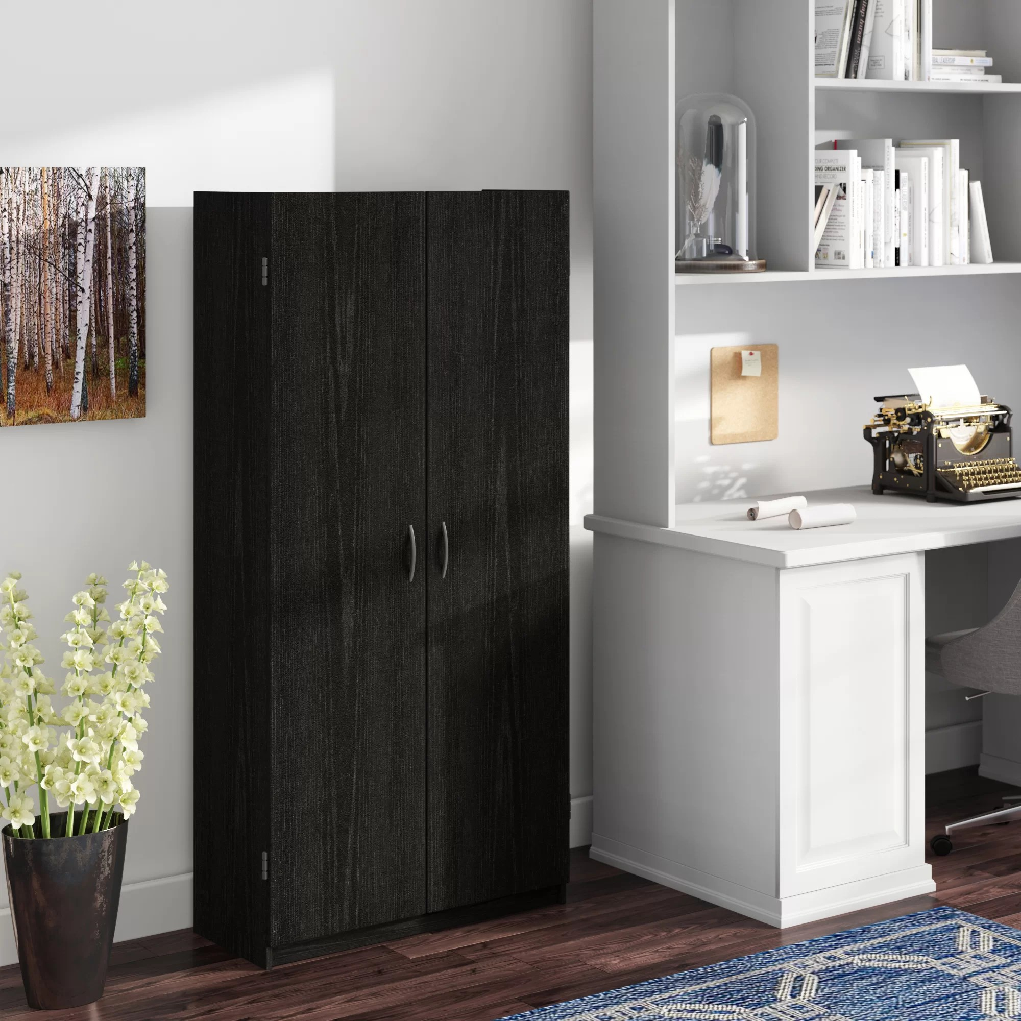 Black Office Storage Cabinets You Ll Love In 2020 Wayfair