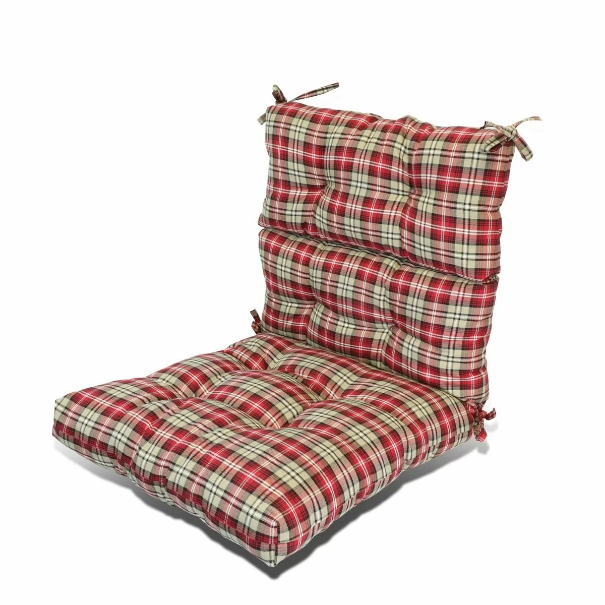 patio seat back indoor outdoor rocking chair cushion
