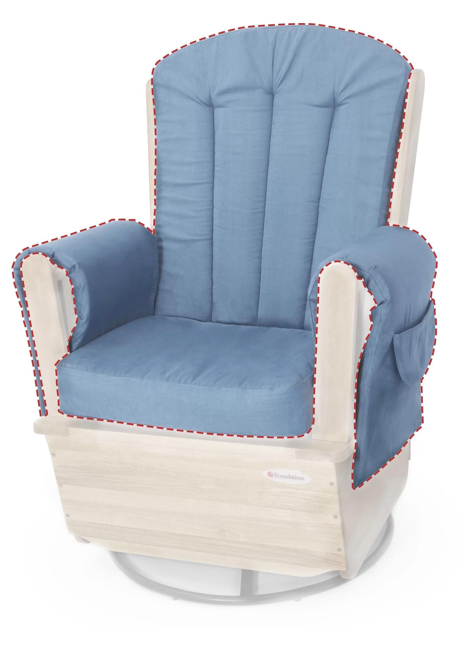saferocker replacement indoor rocking chair cushion